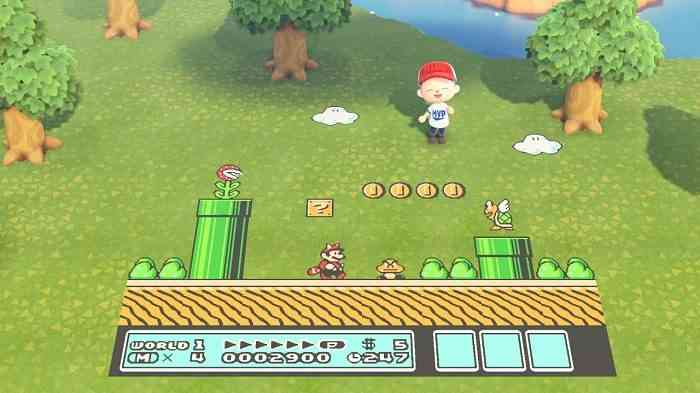 Animal Crossing Mario Day