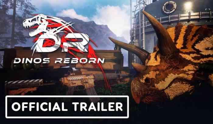 Dinos Reborn trailer image