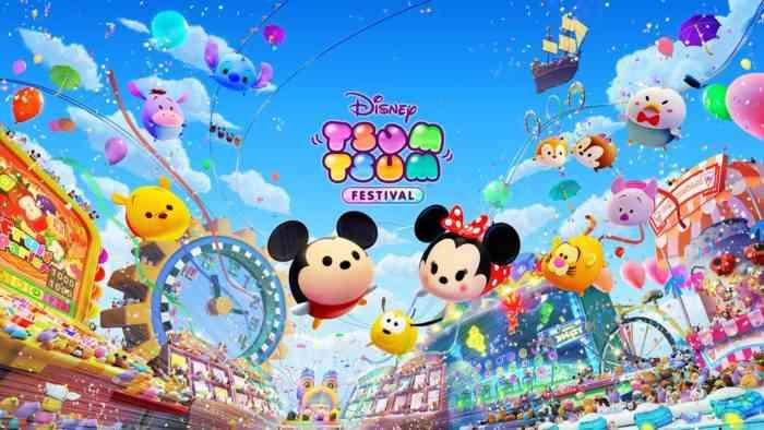 Disney Tsum Tsum Festival cover