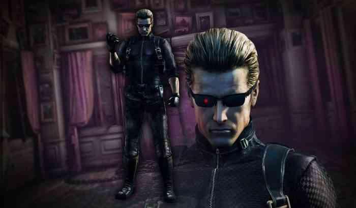 Resident Evil Wesker Character Image