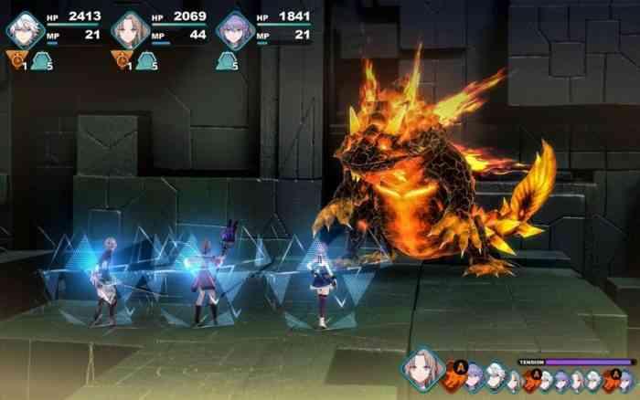 Fantasian screenshot