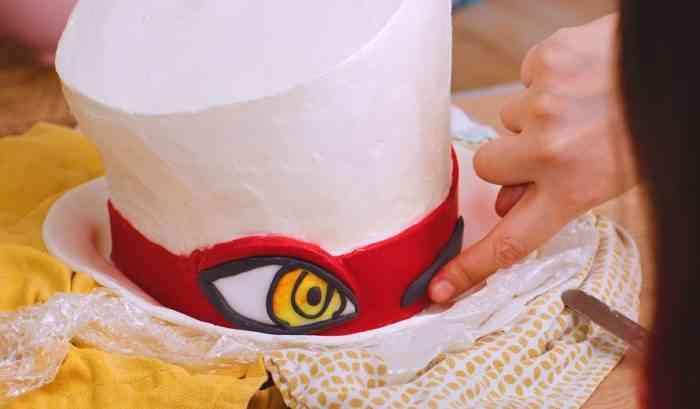 Balan Wonderworld cake