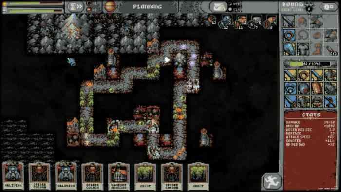 Loop Hero map