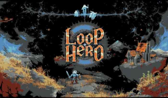 Loop Hero title screen
