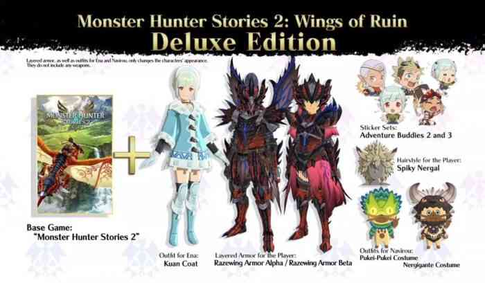 Monster Hunter Stories 2 Deluxe Edition