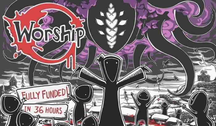 Worship Kickstarter art