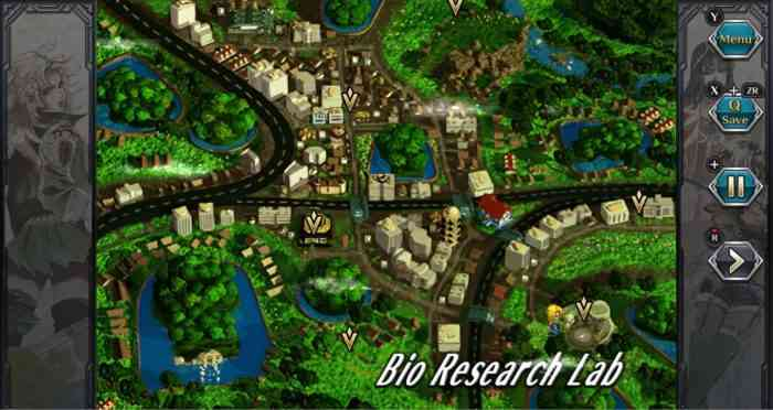 SaGa Frontier Remaster map