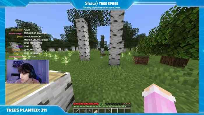 Shaw Tree Spree screenshot