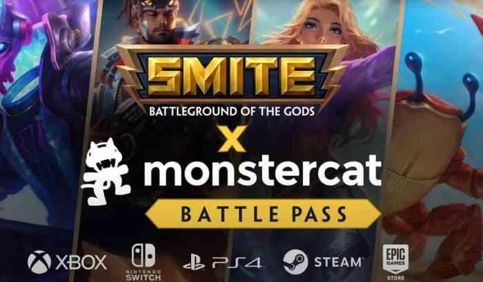 Smite x Monstercat battle pass
