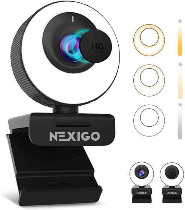 60FPS AutoFocus Webcam