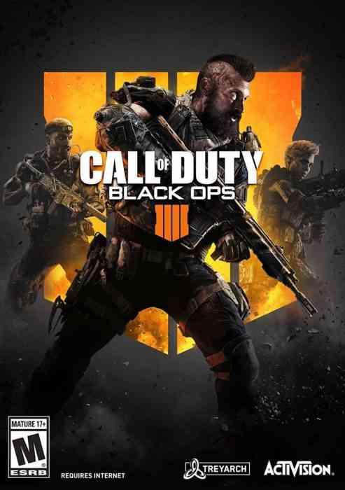 Call of Duty Black Ops 4 box art