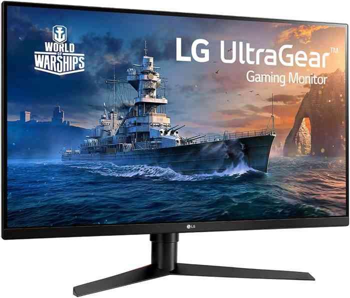 LG 32GK650F-B 32 inch gaming monitor
