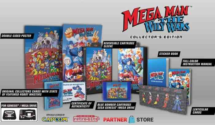 Mega Man The Wily Wars Collector's Edition