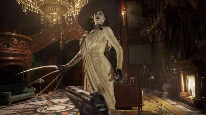 Resident Evil Lady Dimitrescu claws