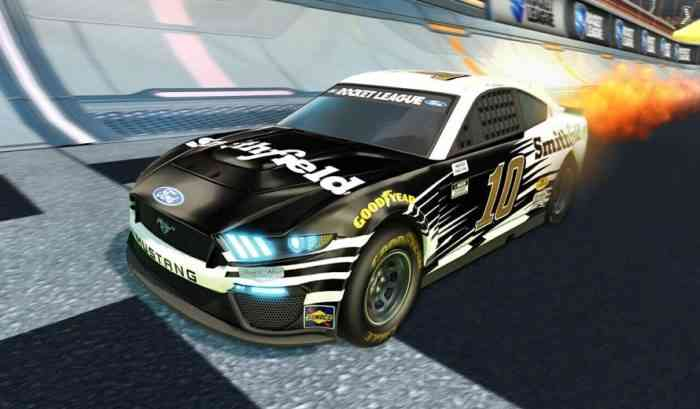 Rocket League NASCAR