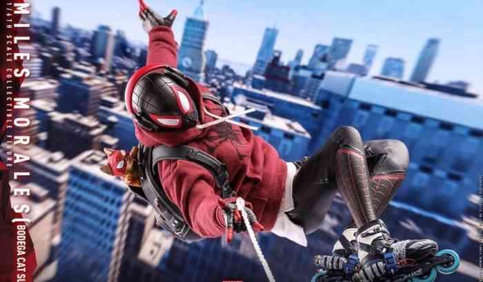 Spider-Man Miles Morales Bodega Cat Suit
