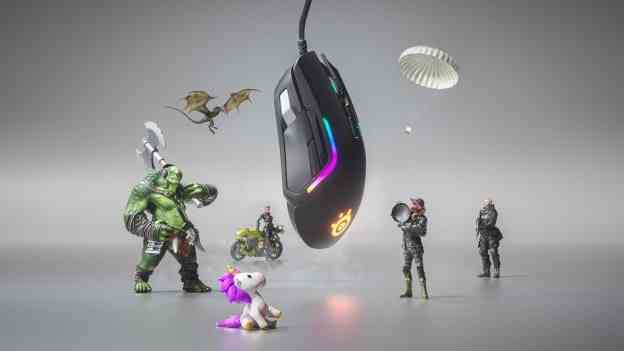 SteelSeries Rival 5 mouse ad