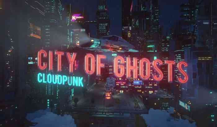 Cloudpunk - City of Ghost key art