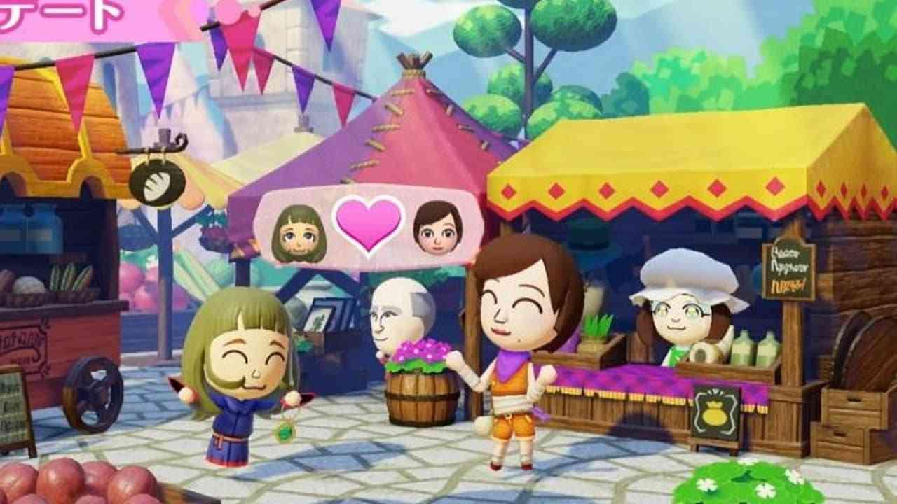 Miitopia for the Nintendo Switch