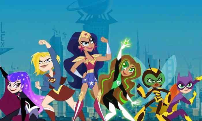 DC Super Hero Girls mid