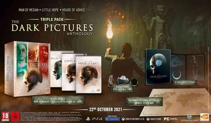 Dark Pictures Anthology Triple Pack