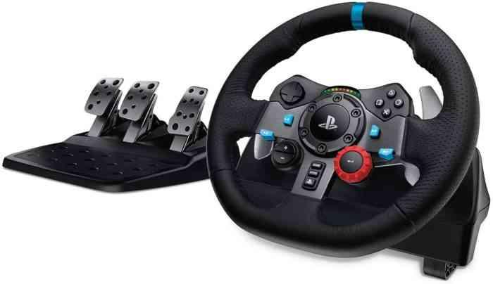 Logitech G Dual-Motor Feedback Driving Force G29 Gaming Racing Wheel