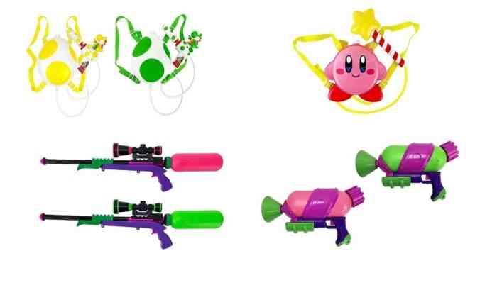 Nintendo Water Guns