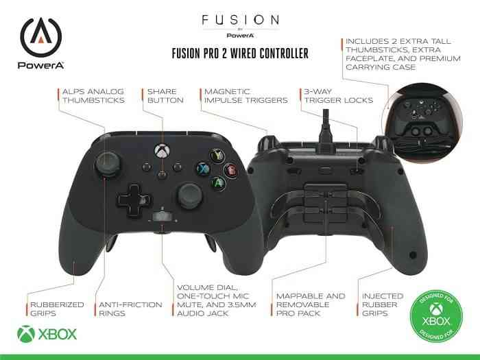 PowerA Fusion Pro 2 Wired Controller - Xbox Series X
