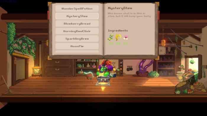 dragon's wandering tavern crafting screenshot