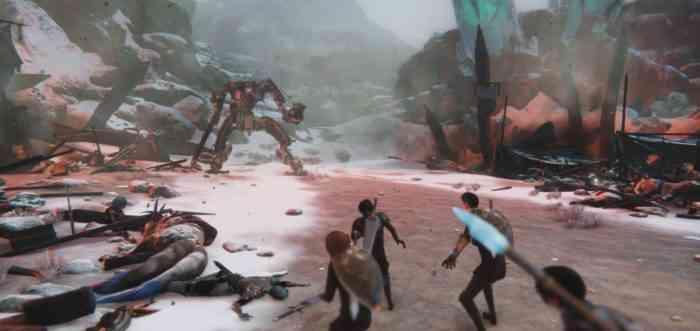 edge of eternity robot combat