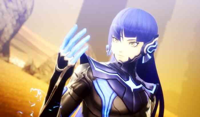 Shin Megami Tensei V protagonist screenshot