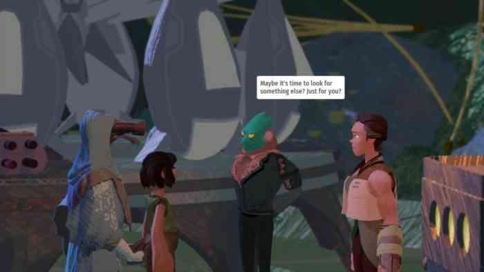 Stonefly Acorn Corp cutscene