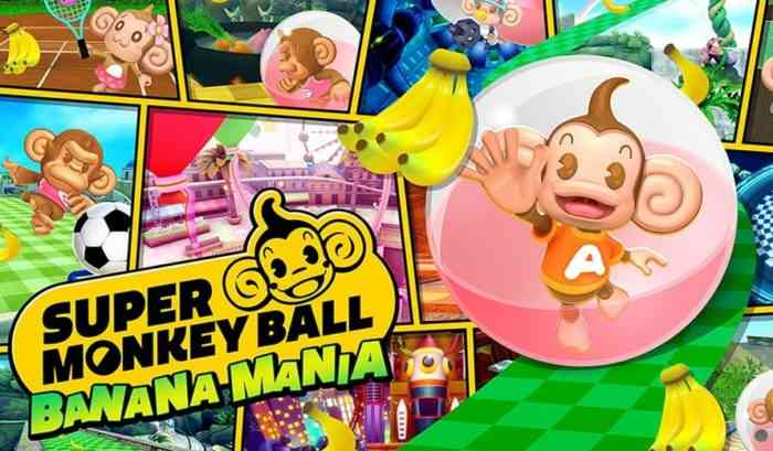 Super Monkey Ball Banana Mania key art