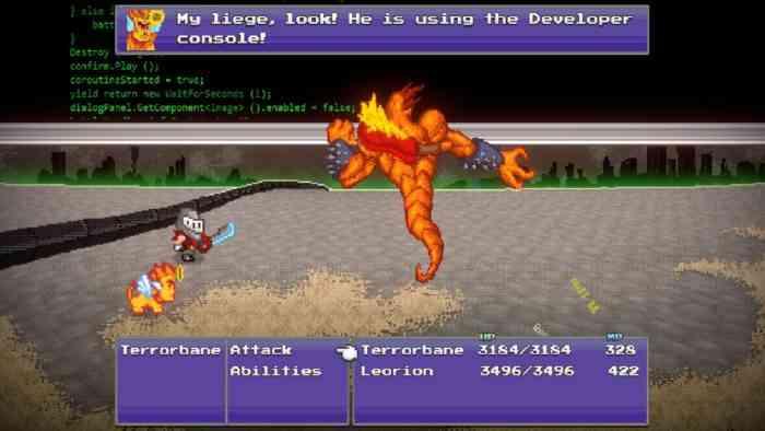 terrorbane battle screenshot