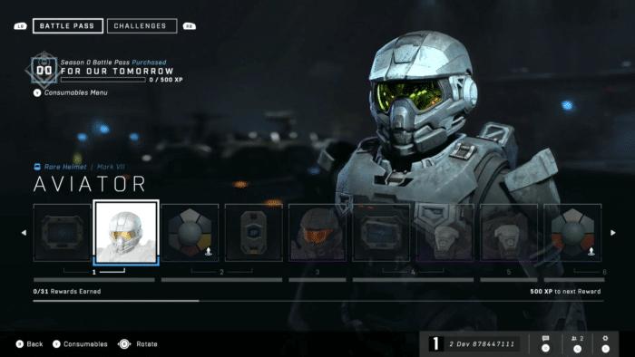 Halo Infinite Battle Pass