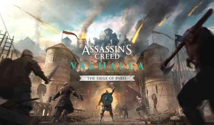 Assassin's Creed Valhalla DLC Siege of Paris