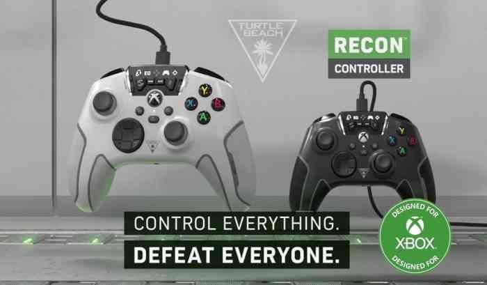 Turtle Beach's New Xbox Recon Controller