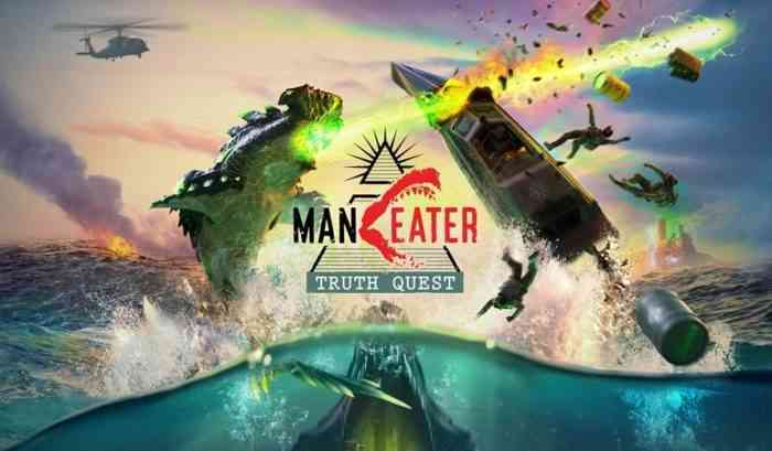 maneater truth quest key art