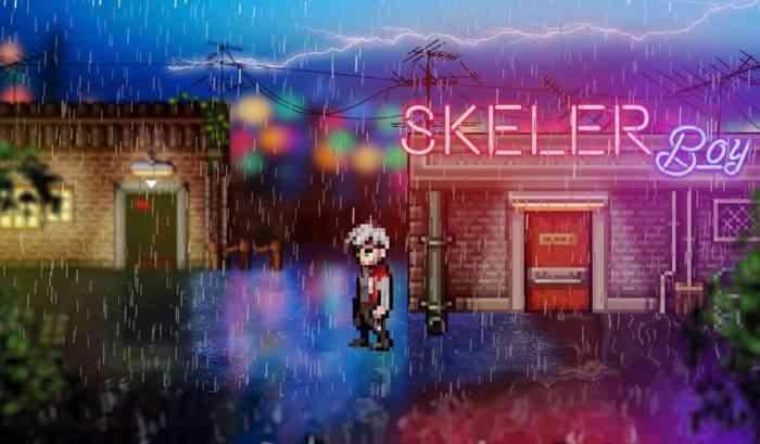 skeler boy key art