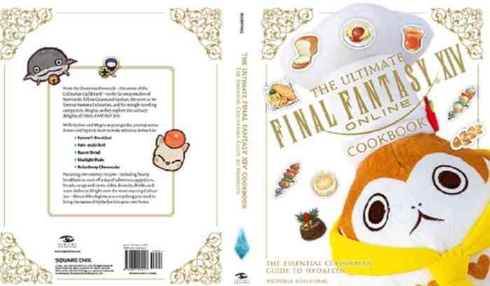 final fantasy 14 cookbook gamestop