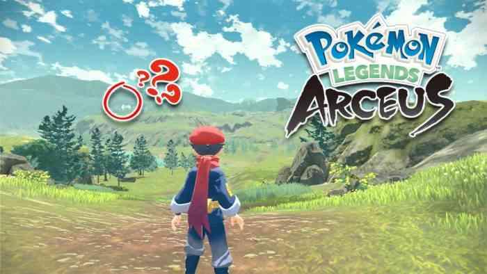 pokemon legends arceus direct