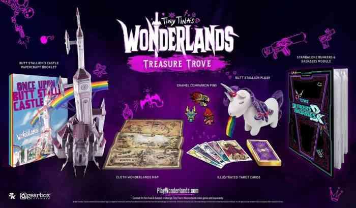 Tiny Tina's Wonderlands Treasure Trove