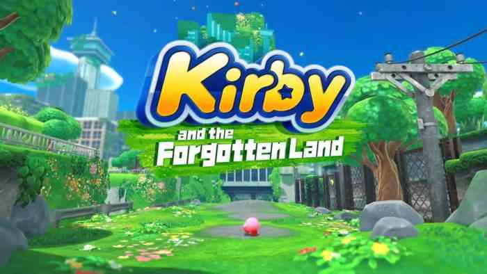 kirby and the forgotten land release