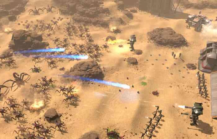 starship troopers terran command playable demo