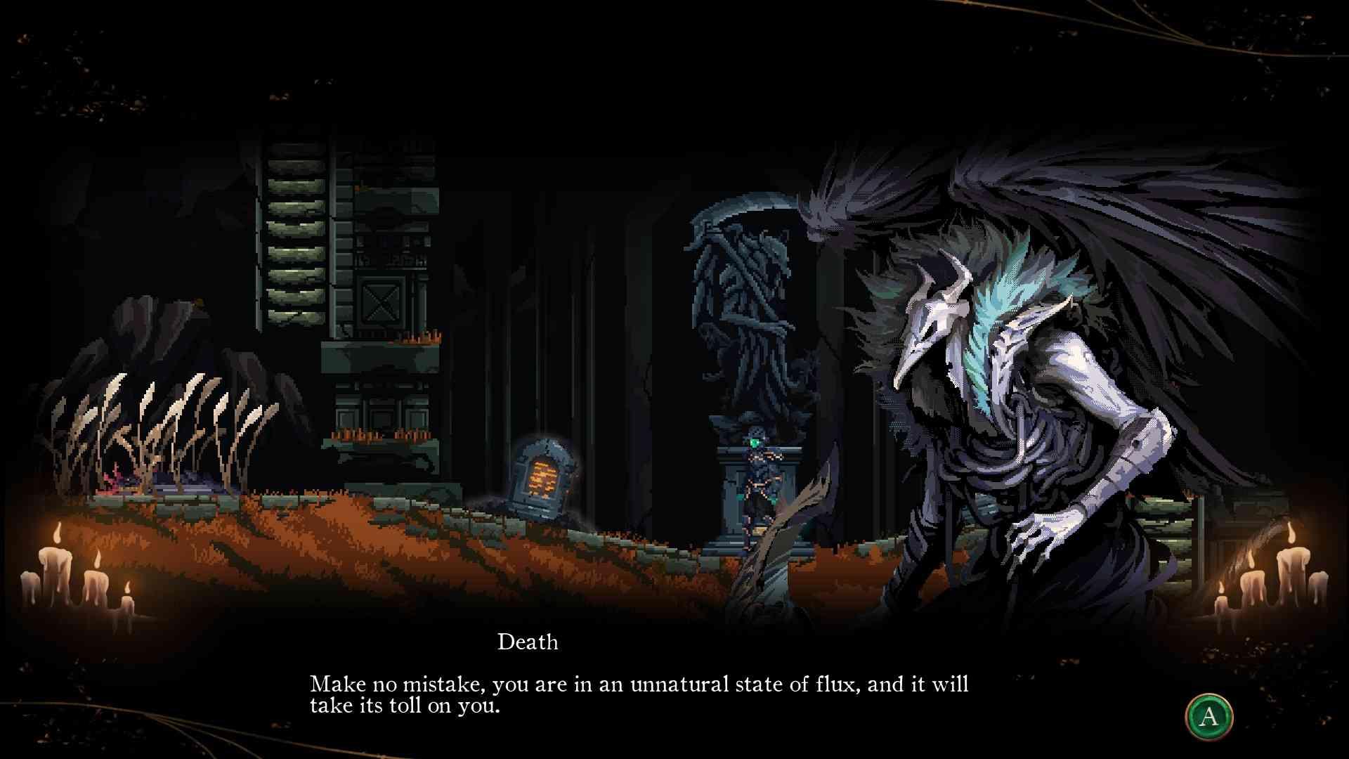 Death's Gambit Afterlife death