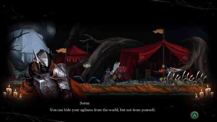 Death's Gambit Afterlife sorun shadow